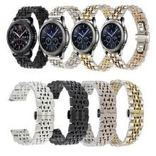 22Mm 20Mm Band Voor Samsung Galaxy Horloge 3 41 45Mm Gear S3 46Mm 42Mm Horloge roestvrij Stalen Band Voor Amazift Metal Pols