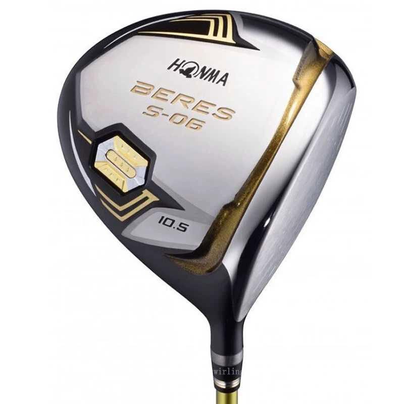 Honma S -06 3-star Swirling Golf Club Golf Driver Golf Right Hand Driver 9.5 10.5 Loft  R S Golf Graphite Shdft  Free Shipping