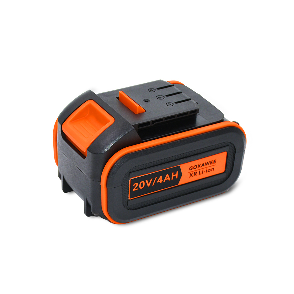 GOXAWEE 4000mAh Electric Wrench Lithium Battery 21V Fast Charging For Electric Cordless Impact Wrench Power Tools Accessories