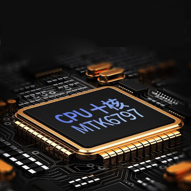 4 аппарат не привязан к оператору сотовой связи 128G10 сетевой шкаф со стеклянной Экран планшет Дека десять 10 Core 6 ГБ 128 Встроенная память Dual SIM 8,0...