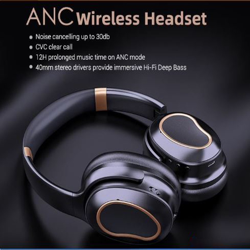 Noise Cancelling Headphones Ts1 Noise Cancelling Sports Bluetooth Headphones With Foldable Wireless Headphones And Microphone Bluetooth Earphones Headphones Aliexpress