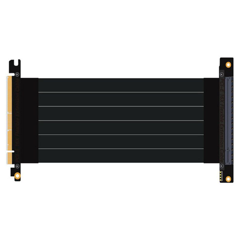 PCI-Express 3.0 16x To Pcie X16 Riser Extension Cable Image Cards 16x Slot Pci-e Cable Connector Stable For PC Host 15cm