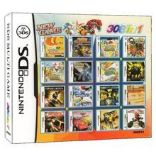 Cartucho de tarjeta de videojuego 308 en 1 para Nintendo DS, 3DS, 2DS, NDS, NDSL, NDSI