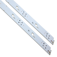 55 1Set= 10Pieces For 55 inch TV KD-55X8000C Led backlight strip SVY550AH0 SVY550AH0-Rev00-5LED-L-150223 5 Lamps (3)