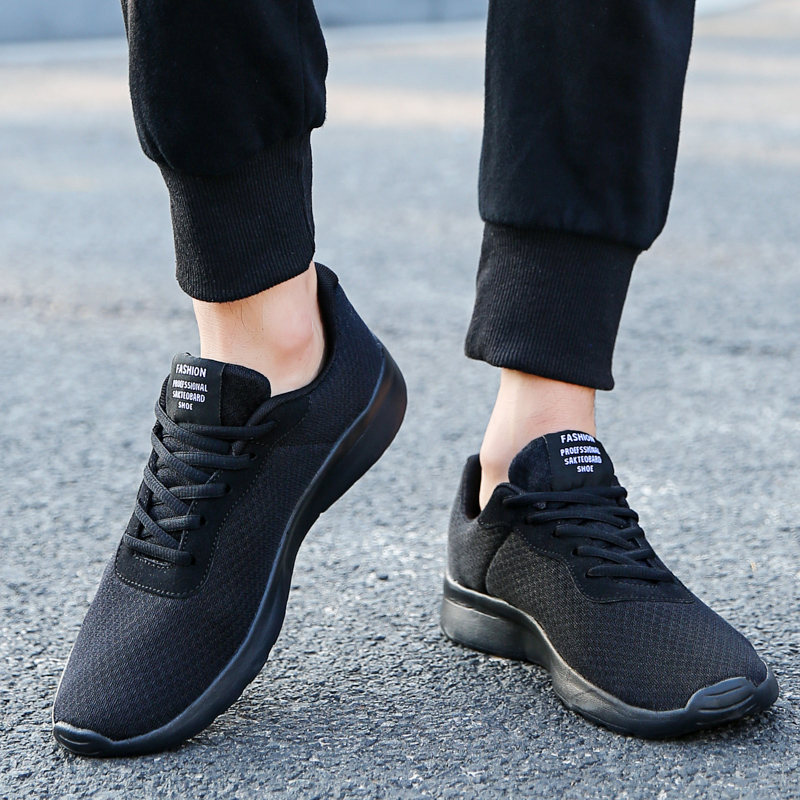 CcharmiX Men Shoes Couples Walking Sneakers Lace Up Spring Lightweight Mens Casual Shoes Breathable Male Footwear Big Size 48