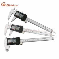 stainless steel Digital Caliper 0-100mm 4inch mini pocket electronic vernier caliper slider caliper Gem thickness gauge