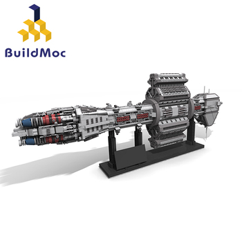 BuildMOC Star Toys Wars The MOC 12902 EAS Agamemnon Model Compatible With Building Blocks Bricks Assembly Kids Gifts 2