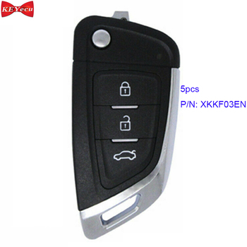 5pcs Xhorse XKKF03EN Universal Remote Key Fob Knife Style for VVDI Key Tool VVDI2