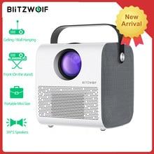 BlitzWolf BW-VP5 projecteur LCD Portable 3800 Lumens 1280*720P HD multimédia projecteur bluetooth avec 2 haut-parleur projecteur de théâtre videoprojecteur mini projecteur portable video projecteur