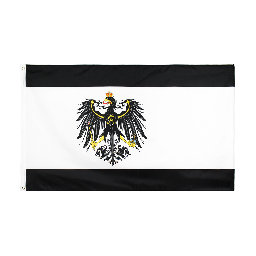 WN 60X90 90X150cm Germany Prussian German Banner Prussia Flag For Decoration
