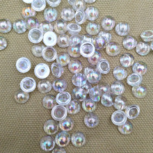 100 pcs dazzling semi-ball DIY jewelry making mobile phone c