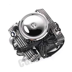 Image 4 - Classic V8 F82 Simulated Engine Motor Fan Radiator For 1/10 RC Crawler Car Traxxas TRX4  SCX10 Rc4wd D90 VS4 Upgrade