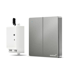 Suntree two-open self-powered switch smart home wireless remote control device with google home