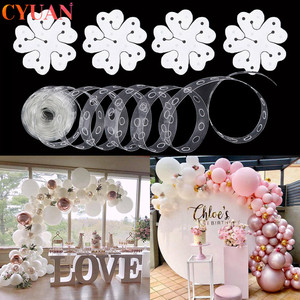 Balloon Arch Decoration Balloon Chain Wedding Balloon Garland Birthday Baby Shower Background Decoration Balloon Accessories