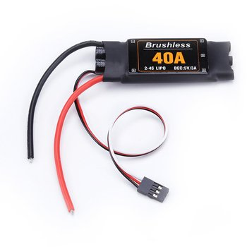 40A Brushless ESC Drone Airplanes Parts Components Accessories Speed Controller Motor RC Toys FPV Durable Quadcopter Helicopter 4 axis gps mini drone helicopter parts arf diy kit gps apm 2 8 flight control emax 20a esc brushless motor