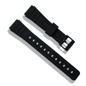16mm 18mm 20mm Silicone Watch Strap Band Women Men Black Sport Diving Rubber Watchbands Buckle For Casio Watch Accessories 16mm silicone rubber watch band strap fit for casio g shock replacement black waterproof watchbands accessories