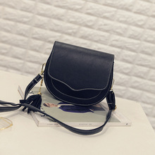 New style solid color tassel shaped female bag young fashion saddle bag women's crossbody shoulder bag PU small bag novelty flamingo shaped crossbody bag