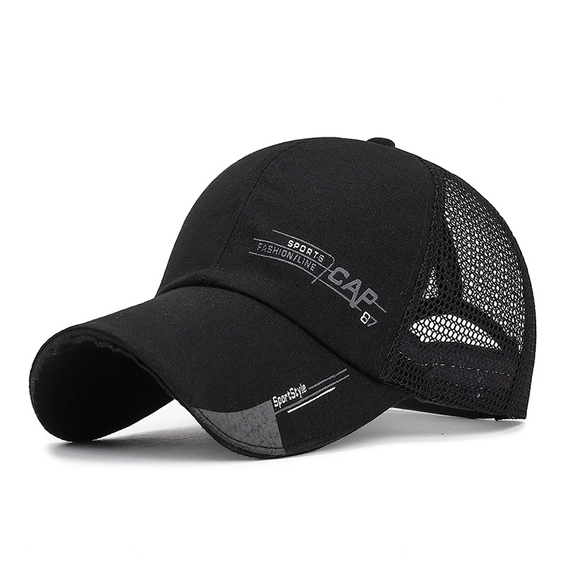 2019 Fashion Baseball Caps Men Letter Mesh Caps Women Summer Breathable Unisex Dropshipping Snapback Caps Outdoor Gorras Cap