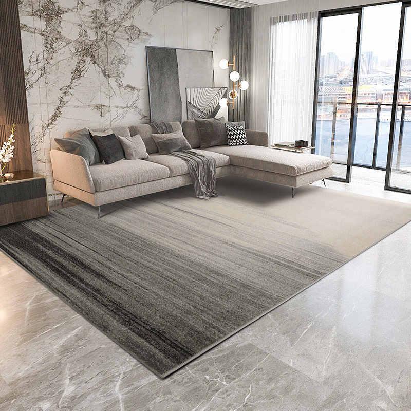 Modern Gray Carpets For Living Room