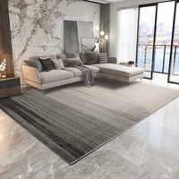Moderne gris tapis pour salon nordique épais chambre tapis canapé Table basse tapis de sol salle d'étude tapis et tapis Tatami tapis