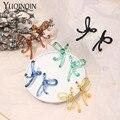 Акриловые Винтажные висячие серьги ручной работы для женщин, модные ювелирные изделия, длинные серьги в стиле панк, корейские большие милые...