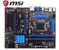 MSI ZH77A-G43 carte mère d'origine DDR3 LGA 1155 pour I3 I5 I7 CPU 32 GO USB3.0 SATA3 H77 carte mère