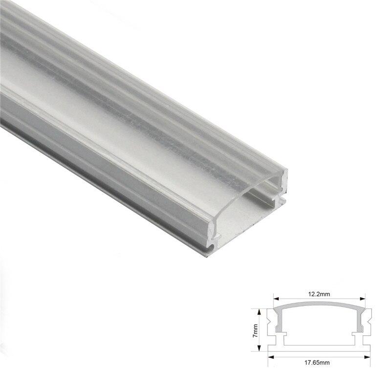 Image 2 - 1set 50cm LED Bar Lights Aluminium Profile Transparent Cover U/V/YW Style Shaped for LED Strip Light Parts-in LED Bar Lights from Lights & Lighting