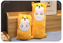 1pc Cartoon Lying Plush Stuffed Dog Big Toys Shiba Inu Doll Lovely Animal Children Birthday Gift Corgi Pillow 65-90cm