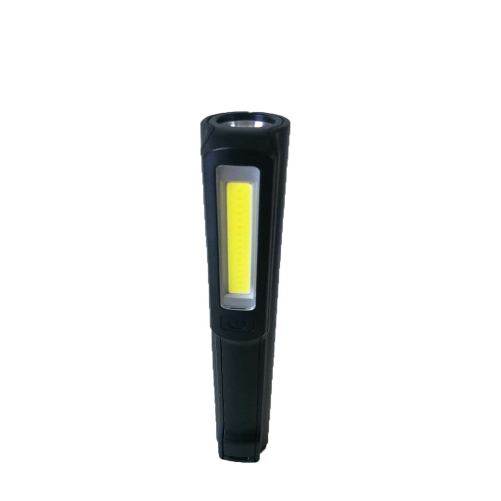 Mini Pen Type COB LED Flashlight Multifunction Torch Light Magnetic Working Inspection Lamp Pocket Light USB Charging