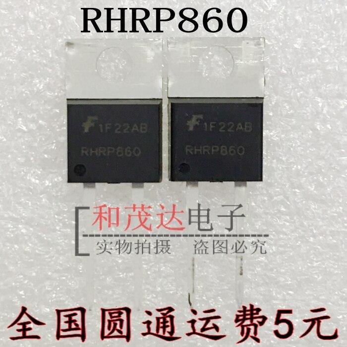 1 шт. новый оригинальный RHRP860 TO-220 600V8A в наличии