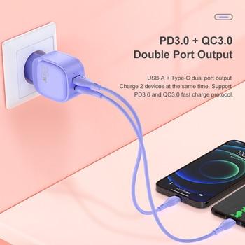 Зарядное устройство KUULAA 20 Вт, для iPhone 12 Pro Max 11 Pro Max XS 8 3