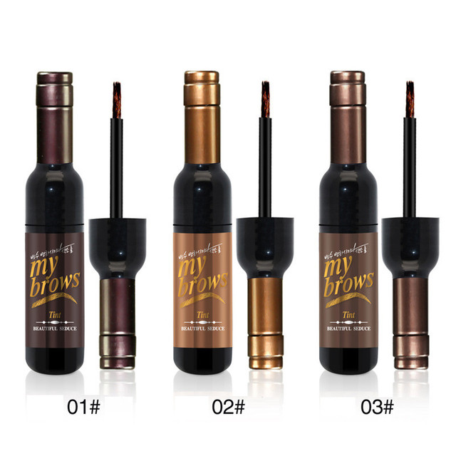 Peel-off Tattoo Eyebrow Gel Long-lasting Dye Tinted Brow Cream Waterproof Paint Makeup Eye Tint Cosmetics Black Brown Eyebrows 5