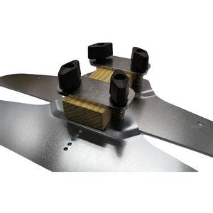 Image 3 - Conjunto de modelos de piso de escada, modelo de substituição passos risers braçadeira placas ferramenta de mão