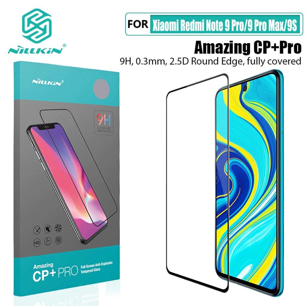For Xiaomi Redmi Note 9 Pro Tempered Glass Nillkin CP+PRO H/H+Pro XD CP+MAX  Screen Protector For Redmi Note 9 Pro Max/9S Glass