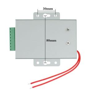 Image 4 - DC12V 3A جديد نظام مراقبة الدخول امدادات الطاقة التبديل التيار المتناوب AC110V 260V تأخير وقت الإدخال ل قفل باب نظام اتصال داخلي الفيديو K80