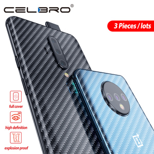 Back Protector for Oneplus 8 Pro Sticker for One Plus 8 7 7t Pro Oneplus8Pro 1+8 5G Back Film Protector Skin Matte Carbon Skins(China)