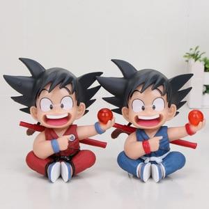 Image 5 - 11 см аниме Dragon Ball Fighter Z Majin Buu Cell ПВХ фигурка, игрушки, модель, ребенок Buu Freeza frieza Fina от