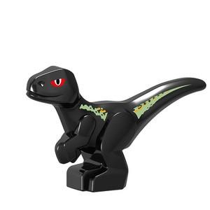 Image 3 - 2020 Jurassic World Park Dinosaurs Indoraptor Pterosauria Egg Baby Dino Building Block Bricks City Toys For Children