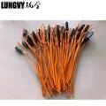 50 piezas 1m alambre de cobre Color naranja cable de encendido de talón para fuegos artificiales Sistema de disparo dispositivo