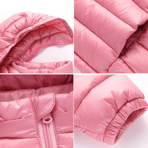 Image 5 - Baby Girls Boys Parka Light Kids Jacket Hood 90% Duck Down Coat Winter Children Jacket Spring Fall Toddler Outerwear 1 12 Year