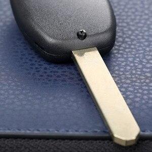 Image 2 - 2 botones llave de sustitución de coche sin llave de entrada remota estuche para mando a distancia caja hoja sin cortar para HONDA Accord Civic Fit Pilot CR V
