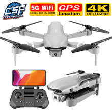 2020 Nieuwe F3 Drone Gps 4K 5G Wifi Live Video Fpv Quadrotor Vlucht 25 Minuten Rc Afstand 500 M Drone Hd Groothoek Dual Camera(China)