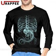 Men's Alien Covenant Prometheus O Neck Cotton Custom Long Sleeve Big Size Base T Shirts European Tshirt Men Father's Day Gift