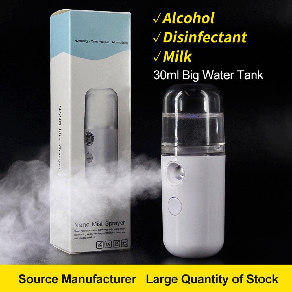 Маленький нано-распылитель для пополнения воды, портативный увлажнитель, нано-распылитель тумана