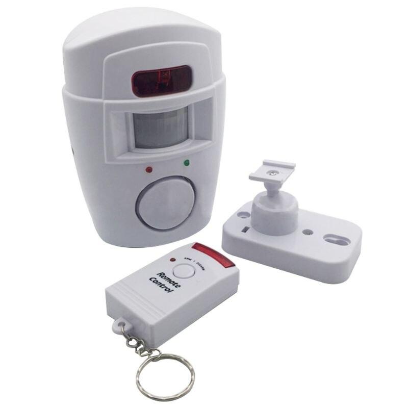 Door/Window Anti-theft Human Body Induction High Decibel Alarm Infrared Remote Control Home Improvement Hardware Door