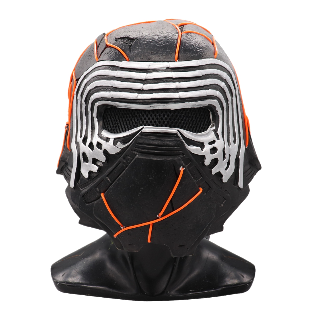 Kylo Ren Helmet Mask Star Wars 9 The Rise Of Skywalker Cosplay Mask Star Wars Led Helmets Masks Halloween Party Prop Boys Costume Accessories Aliexpress