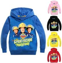 Kids Baby Boys Girls Hoodies Cartoon Clothes