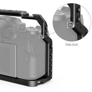 Image 4 - SmallRig G95 Dslr kafes Panasonic G95 kamera kafesi soğuk ayakkabı dağı ve NATO rayları Video çekim hızlı bırakma kafes 2446