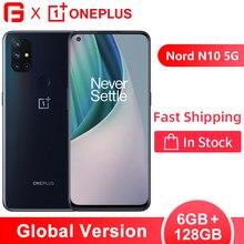 Versão global oneplus nord n10 5g smartphone 6gb 128gb snapdragon 690 nfc 6.49
