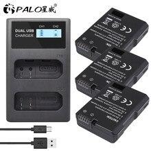 EN-EL14 EN EL14 EN-EL14a Batterie + LCD Double Chargeur pour Nikon P7800 P7100 D3400 D5500 D5300 D5200 D3200 D3300 MH-24 D5600 D8000